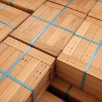 Beech wood parquet