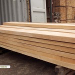 Loading container with beech wood 2